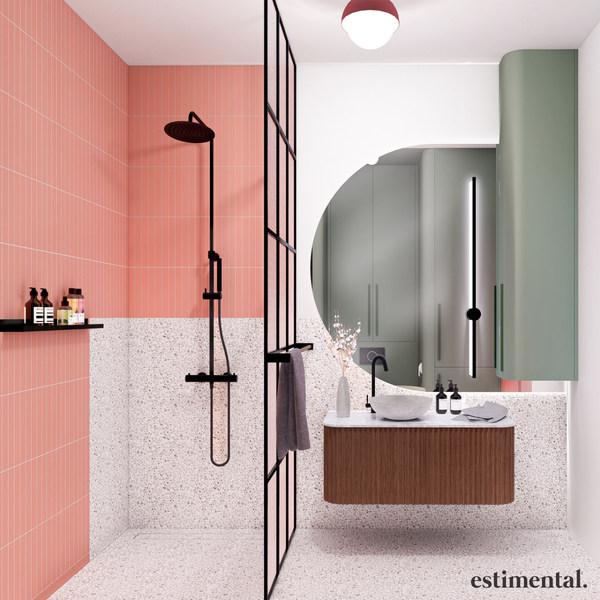 Mała łazienka z prysznicem - aranżacja