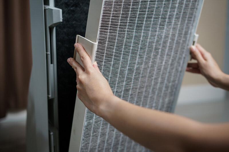Oczyszczacz powietrza - filtry HEPA