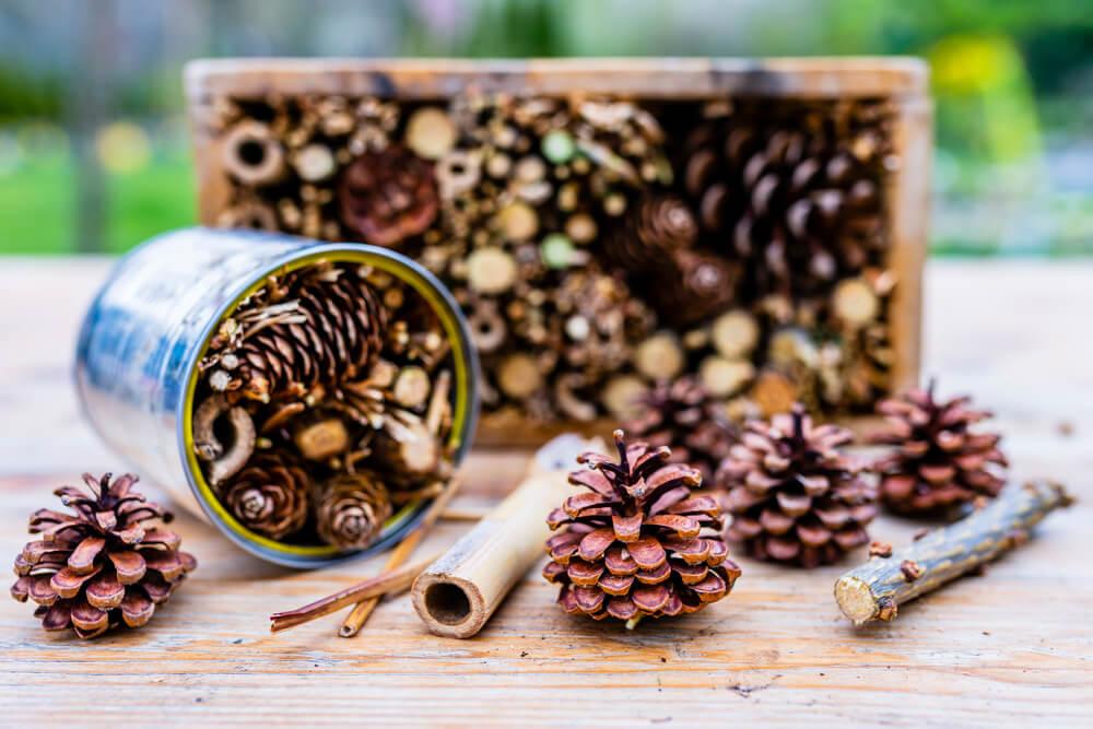 Domek dla owadów metodą DIY