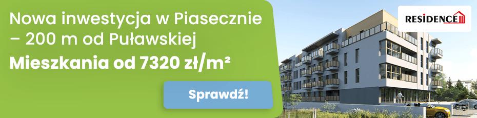 Raszyńska Residnece - nowa inwestycja mieszkaniowa w Piasecznie