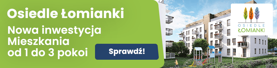 Inwestycja mieszkaniowa w Łomiankach