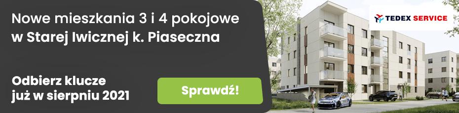 Tedex Residence etap IV - inwestycja mieszkaniowa w Starej Iwicznej k. Piaseczna