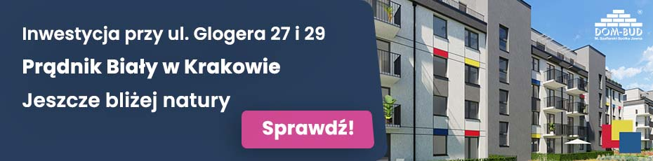Inwestycja mieszkaniowa w Krakowie - Glogera 27 i 29