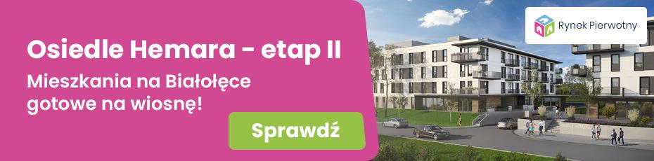 Mieszkania na Białołęce - Osiedle Hemara - etap II