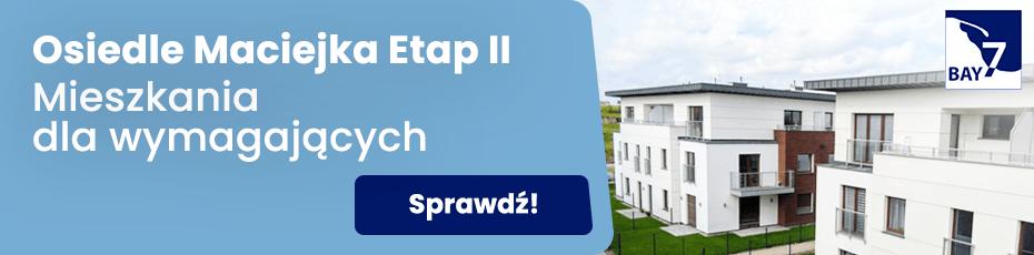 Osiedle Maciejka Etap II - nowe mieszkania w Gdańsku