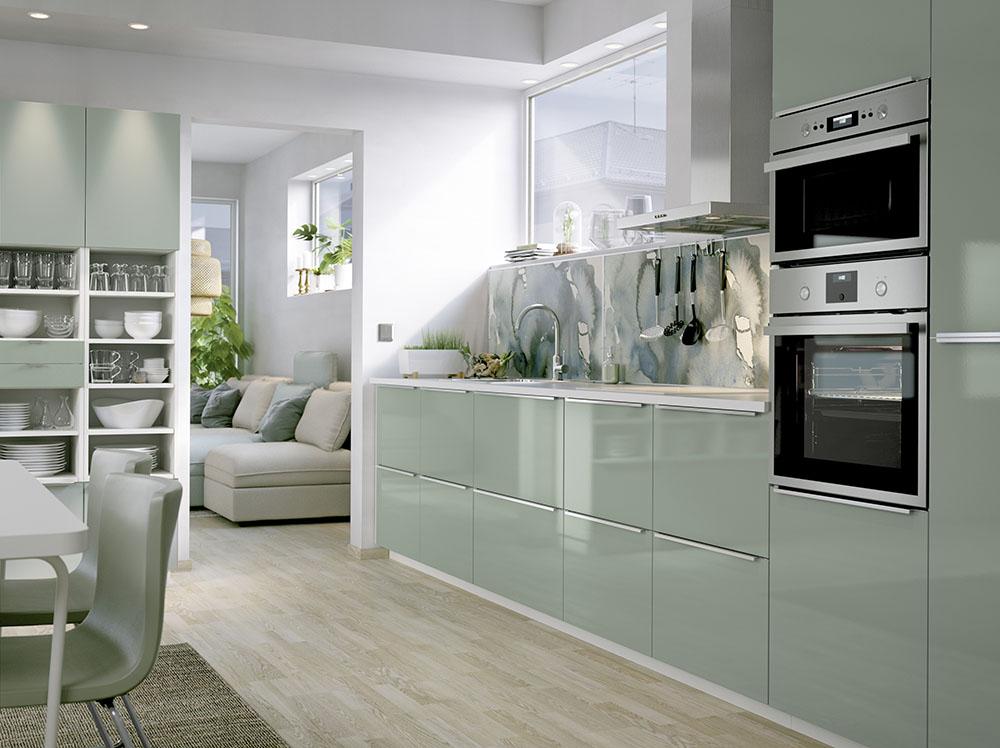 Kuchnia - styl nowoczesny rynekpierwotny.pl IKEA