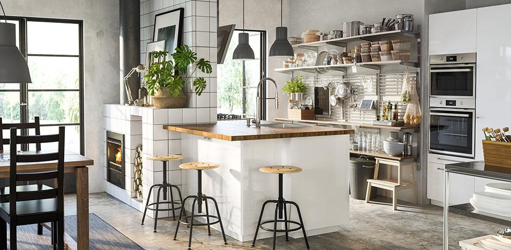 Krzesła – styl skandynawski rynekpierwotny.pl IKEA