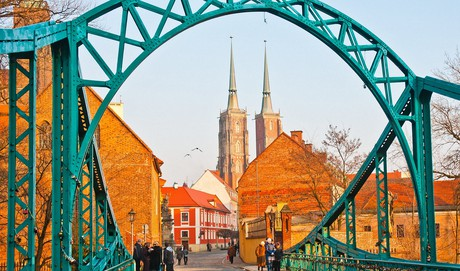 Ostrów Tumski we Wrocławiu - atrakcja turystyczna